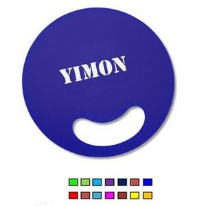 Round Hand Fan / Die-cut Plastic Hand Fan