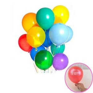 "9"" Latex Balloon"