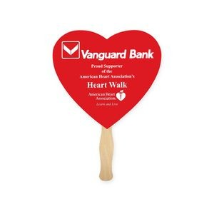 Lightweight Heart Shape Hand Fan