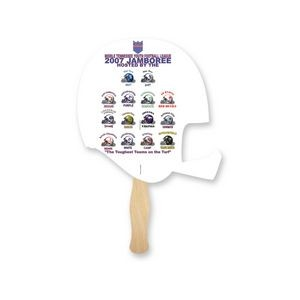 Lightweight Helmet Shape Hand Fan