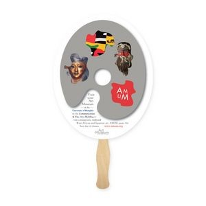 Lightweight Oval Shape Hand Fan